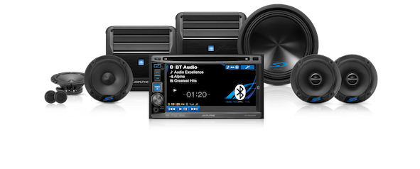Alpine audio system, png